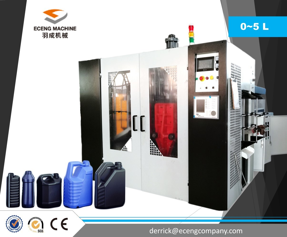 Two Cavity Plastic Container Manufacturing Machine Easy To Operate / Maintenance