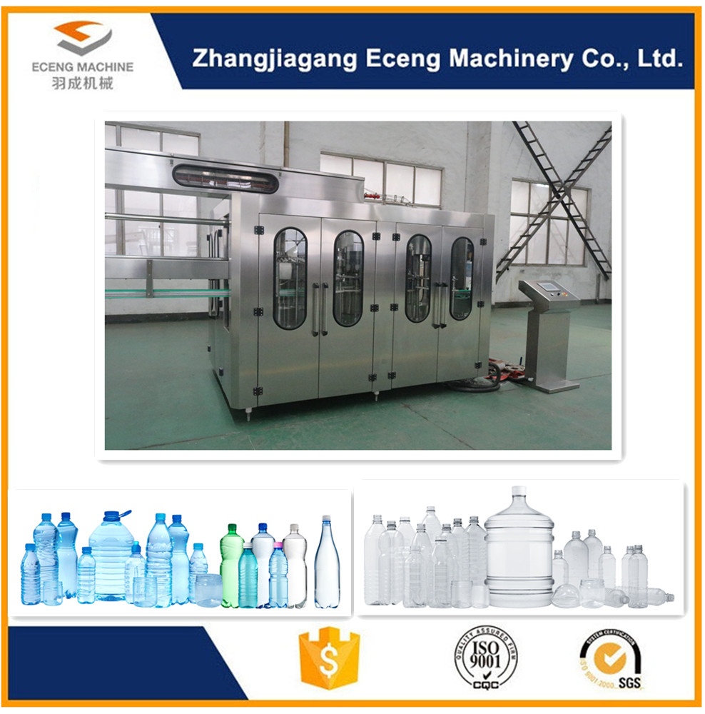 330 - 2250ML Soft Drink Filling Machine , 2.2kw Mineral Water Filling Machine